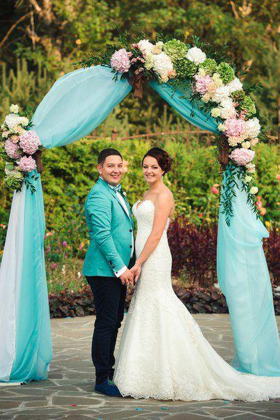 Людмила и Андрей Салон свадебных платьев Bliss